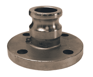 "100-AL-SS Dixon 1"" 316 Stainless Steel Adapter x 150# ASA Flange"