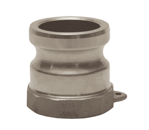 "100-A-HA Dixon 1"" Hastelloy Type A Adapter - Female NPT x Male Adapter"