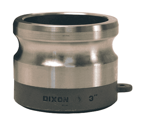 "300AWBPSTSS Dixon 3"" 316 Stainless Steel Adapter for Welding - Butt Weld to Schedule 40 Pipe / Socket Weld to Nominal OD Tubing - 3.015 Bore"