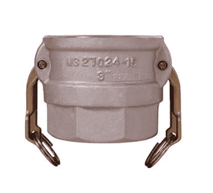 "600DWSPAL Dixon 6"" 356T6 Aluminum Coupler for Welding - Socket Weld to Schedule 40 Pipe - 6.655 Bore"