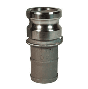 "100-E-HA Dixon 1"" Hastelloy Type E Adapter - Male Adapter x Hose Shank"