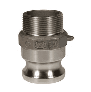 "150-F-HA Dixon 1-1/2"" Hastelloy Type F Adapter - Male NPT x Male Adapter"
