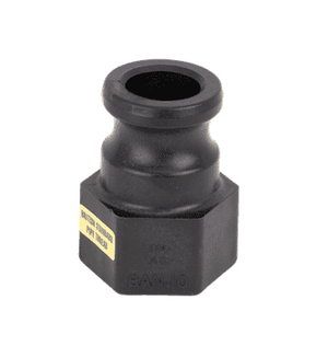 "100ABP Banjo Polypropylene Cam Lever Coupling - Part A - 1"" Male Adapter x 1"" Female Thread - British Standard Pipe ISO 228 Threads"