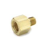 "10480 Nycoil Brass Pipe Fitting - Adapter - 1/4"" Female Pipe Thread x 1/4"" Male Pipe Thread - Pack of 10"