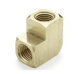 "10488 Nycoil Brass Pipe Fitting - 90 deg. Union Elbow - 1/4"" Female Pipe Thread - Pack of 10"