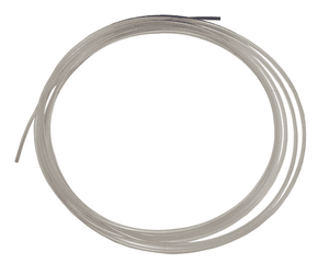 "1092T6200 Legris Clear Fluoropolymer FEP 140 Tubing - 1/2"" OD x .375"" ID - .062 Wall Thickness - 25ft Roll"