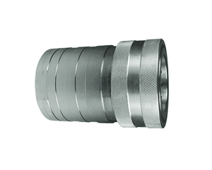 "10HF10 Dixon Steel H-Series Quick Disconnect 1-1/4"" ISO-B High Volume Interchange Hydraulic Coupler - 1-1/4""-11-1/2 Female NPTF"