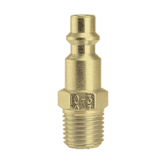 "10-3GB ZSi-Foster Quick Disconnect Plug - 1/4"" MPT - Ball Check, Brass"
