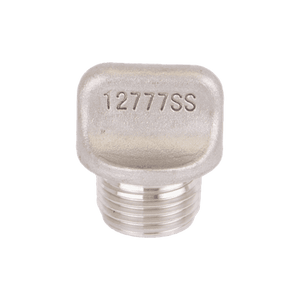 "12777SS Banjo Replacement Part for Self-Priming Centrifugal Pumps - 1/2"" Stainless Steel Plug"
