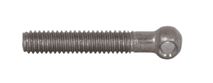 "13IB Dixon Sanitary 304 Stainless Steel 5/16""-18 x 2"" Threaded Eye Bolt for 1/2"" - 5"" Clamps"