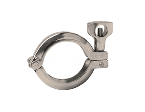 "13MHHV150 Dixon 304 Stainless Steel Sanitary 1-1/2"" Pipe Size Schedule 5S and 10S Single Pin Heavy Duty Clamp"