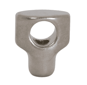 "13WNXM Dixon Sanitary 304 Stainless Steel Mini Cross Hole Wing Nut: 5/16""-18 for 1/2"" - 3/4"" Clamps"