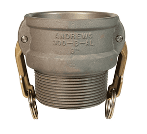 "400-B-ALH Dixon 4"" Aluminum Hard Coat Type B Coupler"