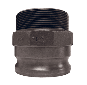 "150-F-MI Dixon 1-1/2"" Unplated Iron Boss Lock Type F Adapter"