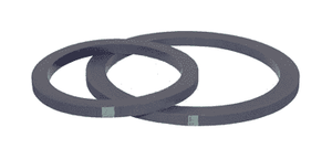 400-G-BF Dixon Cam and Groove Fuel Gasket - Buna - 4""