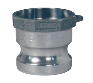 "400AWSPAL Dixon 4"" 356T6 Aluminum Adapter for Welding - Socket Weld to Schedule 40 Pipe - 4.530 Bore"