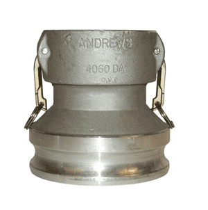 "1520-DA-AL Dixon 1-1/2"" x 2"" 356T6 Aluminum Reducing Cam and Groove Coupler x Adapter"