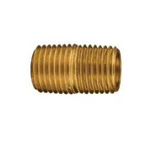 "CN150B Dixon Brass 1-1/2"" Close Pipe Nipple"