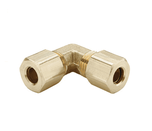 "165C-07 Dixon Brass Compression Fitting - Union Elbow - 7/16"" Tube Size"