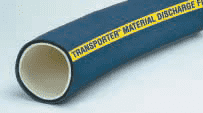 "17772040002 Thermoid 100 PSI 4"" ID Transporter Material Discharge Hose - 100ft"