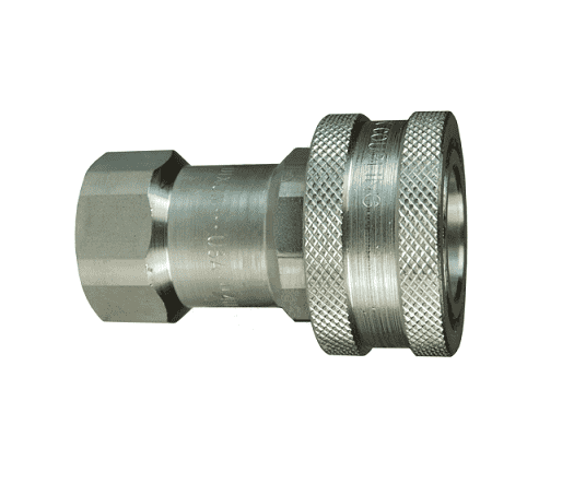1//2 Coupling x 1//2-14 NPTF Female Thread Dixon Valve 4HF4 Steel ISO-B Interchange Hydraulic Fitting Coupler