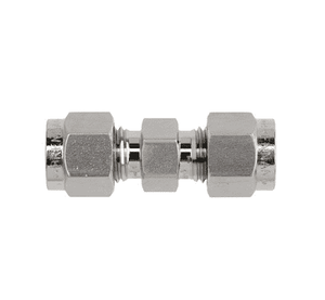 "10-DU Dixon Instrumentation Fitting - Stainless Steel Union - 5/8"" x 5/8"" Tube OD (Pack of 10)"