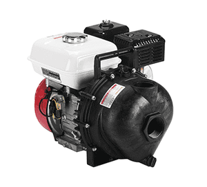 "200PH-5V Banjo Polypropylene 2"" Pump with 5.5 HP Honda® Gas Engine with FKM (viton type) & 316 SS Seal"