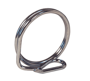 "100PRSCSS Dixon 316 Stainless Steel Pull Ring Safety Clip for 3/4"" - 1"" Boss-Lock Couplings"