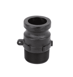 "200FB Banjo Polypropylene Cam Lever Coupling - Part F - 2"" Male Adapter x 2"" Male British Standard Pipe Thread"