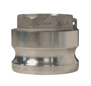 "4030-A-AL Dixon 4"" x 3"" 356T6 Aluminum Type A Reducing Male Adapter x Female NPT"