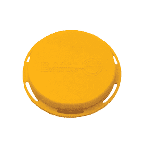 "211FPT Banjo 2"" Female NPT Cap - Yellow"