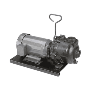 "222PIE51 Banjo 2"" 222 Series Cast Iron Pump with 5.0 HP Single Phase Electric Motor"