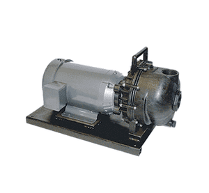 "234PPE51 Banjo Polypropylene 2"" Pump with 5.0 HP Single Phase Electric Motor with EPDM Elastomers"