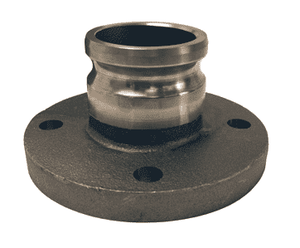 "300-AL-MI Dixon 3"" Unplated Iron Adapter x 150# ASA Flange"