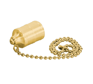 PDC3000 Eaton 3000 Series Plug Dust Cap - Brass