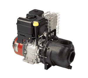 "300P11PRO Banjo Polypropylene 3"" Pump with 11 HP Briggs & Stratton® Gas Engine Pro Series with Electric Start & Pull Rope"