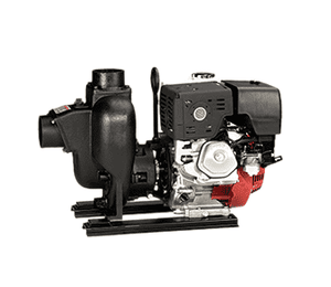 "301PIH13W Banjo 3"" Cast Iron Wet Seal Pump with 13 HP Honda® Engine with Electric Start & Pull Rope"
