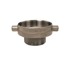 "4030-RD-SS Dixon Stainless Steel Tank Transport Reducer - 4"" Female NPSM x 3"" Male NPT (Welded Fabrication)"
