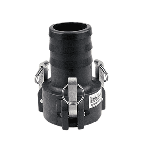 "303C Banjo Polypropylene Cam Lever Coupling - Part C - 3"" Female Coupler with 3 Arms x 3"" Hose Shank - 75 PSI - Gasket: EPDM"