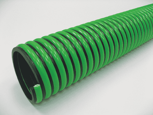 "3080-0400-100 Jason Industrial 3080 EPDM Suction Hose - Green/Black - 38 PSI - 4"" ID - 4.60"" OD - 100ft"