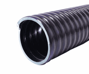 "3087-0400-100 Jason Industrial 3087 Safety Oilfield Clean-up & Recovery Hose - S-omega - Black - 38 PSI - 4"" ID - 4.60"" OD - 100ft"