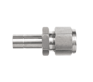 "6-DRATT-8 Dixon Instrumentation Fitting - Stainless Steel Reducer - 3/8"" x 1/2"" Tube OD (Pack of 10)"