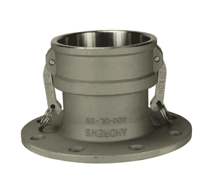 "400-DL-SS Dixon 4"" 316 Stainless Steel Coupler x 150# Flange"