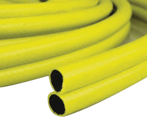 "4142-0188-328 Jason Industrial 4142 Bulk Pneumatic Deadman Twinline Hose - Bright Yellow - 300 PSI - 3/16"" ID - 0.42"" OD - 328ft"