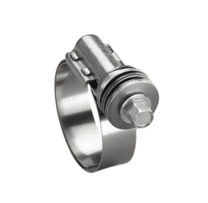"4304852 Ideal Tridon Flex-Gear® 43 Series - Spring Clamp - 300 Stainless Steel - 9/16"" Band Width - Clamp Range: 2-9/16"" to 3-1/2"" - Pack of 200"