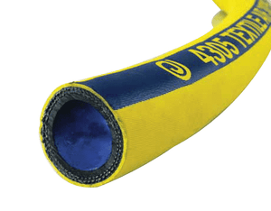 "4305-0100-100 Jason Industrial 4305 Textile Reinforced Air Hose - Bright Yellow - 300 PSI - 1"" ID - 1.46"" OD - 100ft"