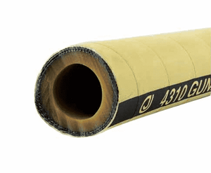 "4310-0250-050 Jason Industrial 4310 Gunite Hose - Tan - 150 PSI - 2-1/2"" ID - 3.88"" OD - 50ft"
