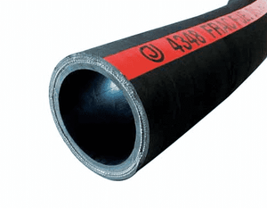 "4348-0400-100 Jason Industrial 4348 Frack Oilfield Fuel Discharge Hose - Black - 400 PSI - 4"" ID - 4.76"" OD - 100ft"