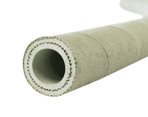 "4380-0125-100 Jason Industrial 4380 Non-Conductive Furnace Door Hose - 150 PSI - 1-1/4"" ID - 1.75"" OD - 100ft"