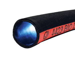 "4423-0200-100 Jason Industrial 4423 Bio-Diesel/Ethanol Suction & Discharge Hose - Black - 150 PSI - 2"" ID - 2.48"" OD - 100ft"